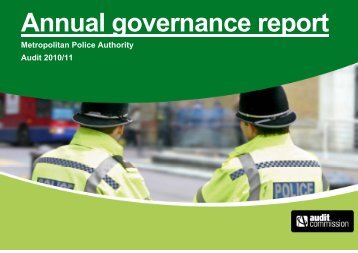 MPA Annual Governance Report