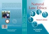 Thomas K. Johnson - Natural Law Ethics - World Evangelical Alliance