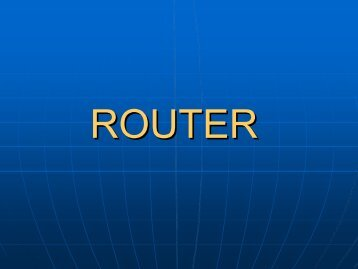 Router(config) - Stochasis
