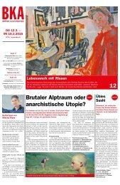 Berner Kulturagenda 2015 N°11