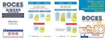 Avilés-Luanco - Consorcio de Transportes de Asturias