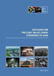 outlook for the coal value chain: scenarios to 2040 - sanedi