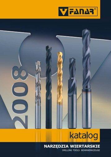 Katalog Narzędzia wiertarskie 2008-2