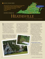 HEATHSVILLE - Cooperative Living Magazine