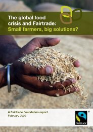 Small farmers, big solutions? - The Fairtrade Foundation