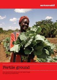 Fertile ground - ActionAid