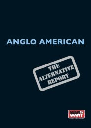 Anglo American: The Alternative Report - War on Want