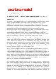 Halving Hunger Through Investment in Small ... - Curtis Research