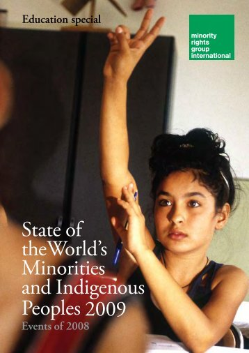 State of theWorld's Minorities and Indigenous Peoples 2009 - OEI