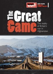 The reality of Britain's war in Afghanistan - Mark Curtis