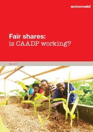 Fair shares: is CAADP working? - ReliefWeb