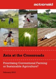 Asia at the Crossroads - ActionAid International