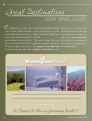 Great Destinations - Cooperative Living Magazine