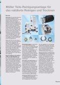 Müller Teile-Reinigungsanlage für das validierte Reinigen und ... - Seite 4