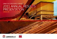 MMR 2012 Annual Results Presentation - MMG