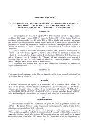 Convenzione ACI - Aci Automobile Club Modena