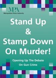 Stand Up & Stamp Down On Murder! Leaflet [PDF]
