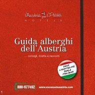 Guida alberghi dell'Austria 2015
