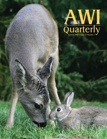 Quarterly - Animal Welfare Institute