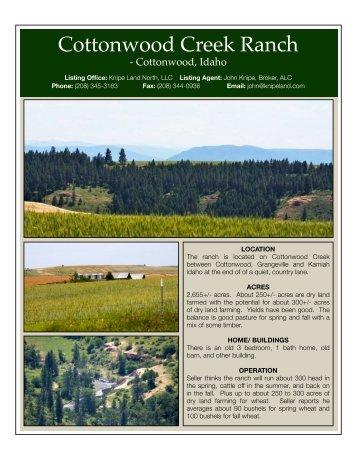 Brochure - Knipe Land Company