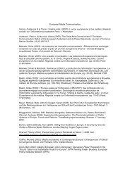 European Media Communication Garcia ... - Aim-project.net