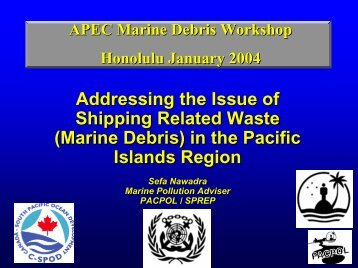 Review of Ship  - Western Pacific Regional Fishery Management ...
