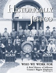 1999: Volume 12, Issue 20 - Historic Jeffco