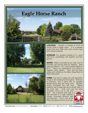 Eagle Horse Ranch edit - Knipe Land Company
