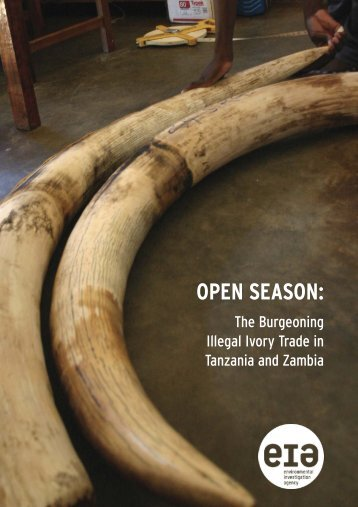OPEN SEASON: - Environmental Investigation Agency