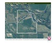 Boise River Parcels Maps - Knipe Land Company