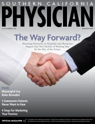 Read the entire article from Southern California Physician here