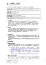 Monitoring Course Progress Policy and Procedure (Overseas ...