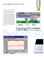 ProLab 3000 Information Sheet