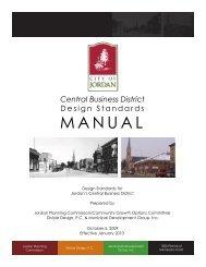 Download Design Standards Manual - Municipal Development Group