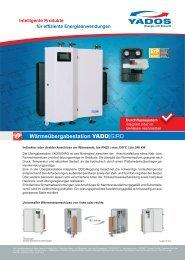 Wärmeübergabestation YADO|GIRO (Produktblatt)