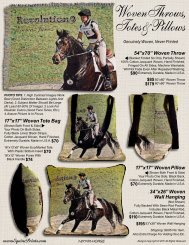 Woven Throws, Totes &Pillows - EquinePrints.com