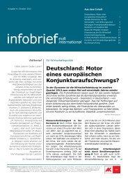 infobrief EU & international - Arbeiterkammer