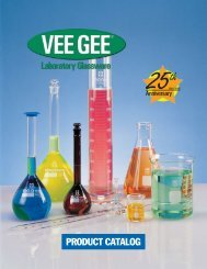 VEE GEE Laboratory Glassware - Nova-Tech International, Inc
