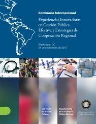 Documento_ Experiencias Innovadoras en Gestión Pública Efectiva y Estrategias de Cooperación Regional