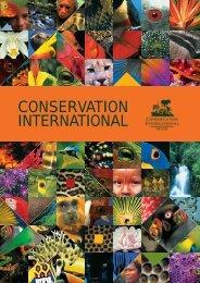 CONSERVATION INTERNATIONAL - Conservação Internacional