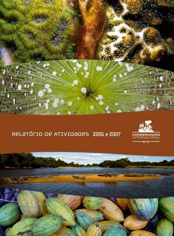 Relatório de Atividades - Conservação Internacional
