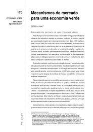 mecanismos de mercado para uma economia verde