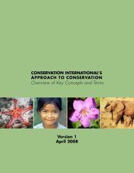 Overview of Key Concepts and Terms - Library - Conservation ...