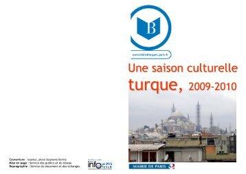 Une saison culturelle turque 2009-2010