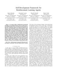 Self-Development Framework for Reinforcement Learning ... - PRLT