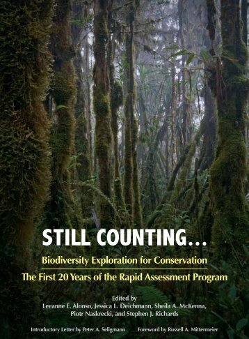 STILL COUNTING... - Library - Conservation International