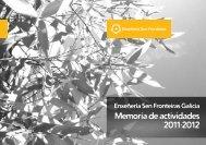 2011·2012 Memoria de actividades - ISF - Ingeniería Sin Fronteras