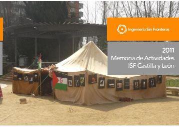 2011 Memoria de Actividades ISF Castilla y León - Ingeniería Sin ...