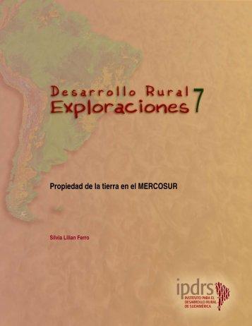 Propiedad de la tierra en el MERCOSUR - ISF