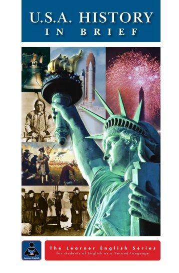 U.S.A. HISTORY